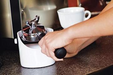 Dreamfarm Grindenstein Abklopfbehälter für Kaffeesatz Jet-Black tiefschwarz -